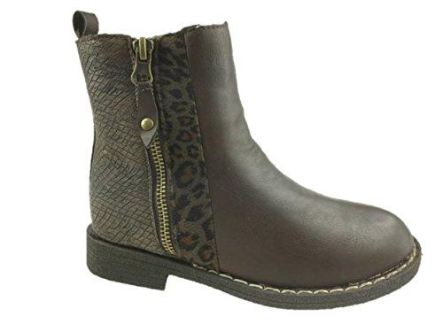 Fullstop Mädchen Chukka Boots, Braun - Braun - Größe: 35 EU