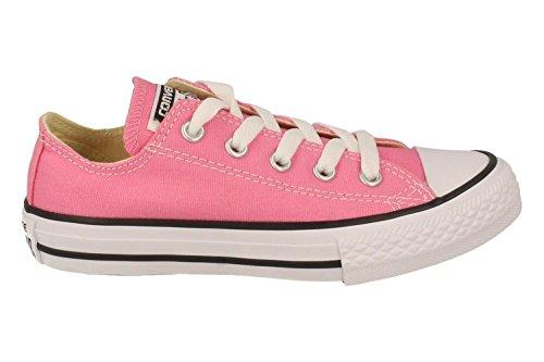 Converse Chuck Taylor All Star K Textile Royal, Chaussures mixte enfant Rose