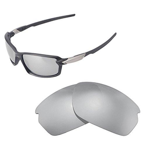 Walleva Ersatzgläser für Oakley Carbon Shift Sonnenbrille,mehrere Ausführungen, Titanium - Polarized