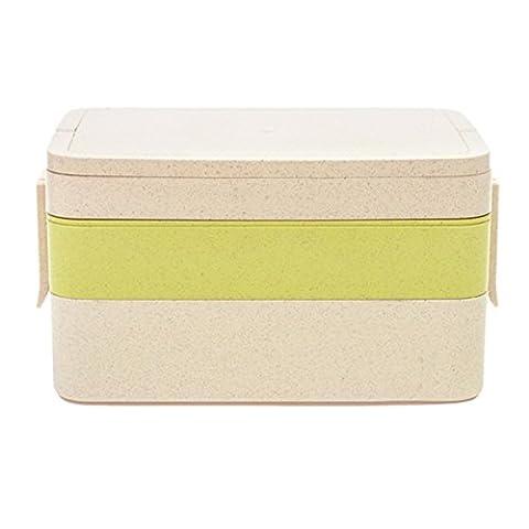 Paille de blé Lunch Box - WinCret mode Three Floor