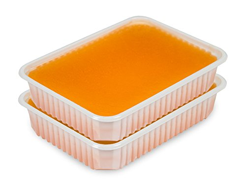 Paraffin Wachs Orange  2 x 400g
