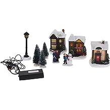 suchergebnis auf f r weihnachtsdeko beleuchtetes weihnachtsdorf. Black Bedroom Furniture Sets. Home Design Ideas