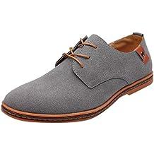 Zapatillas de Hombre de ZARLLE,Moda Hombre Zapatos Planos Zapatos de Negocios Zapatillas de Boda
