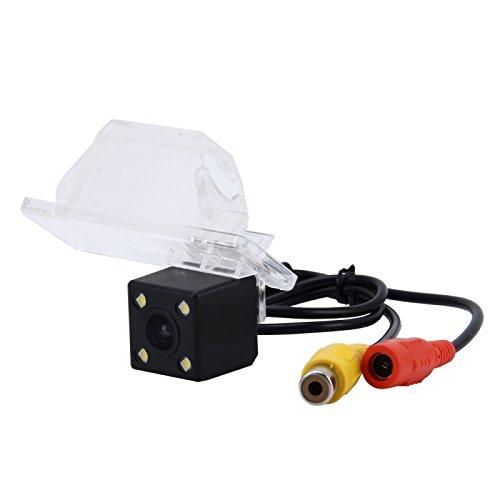 Wewoo Caméra de recul pour 2010-2013 Version X-Trail 720 × 540 Pixel Effectif PAL 50 HZ/NTSC 60 HZ CMOS II Étanche de de Vue Arrière de Voiture avec 4 Lampes LED