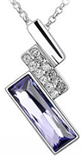 saysure-18k-white-gold-plated-zircon-crystal-design-quartet-necklaces