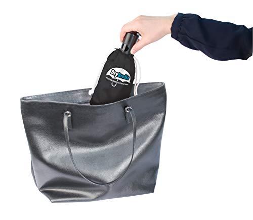 4f69b8a8551e Jobar Drybrella Umbrella Quick Dry Storage Pouch, Microfiber (Black)