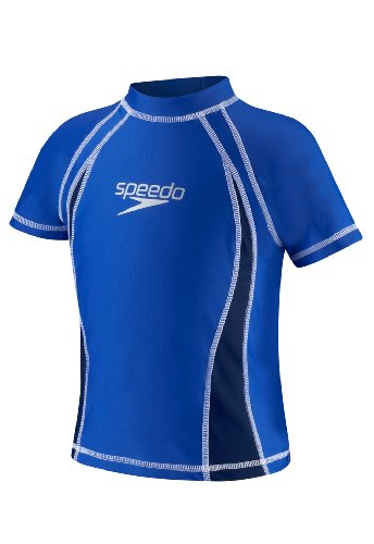 Speedo UV Sun Shirt, Kinder Jungen, blau