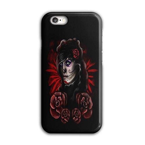 Rose Kunst Halloween Horror Dame Schnitter iPhone 6 / 6S Hülle | (Iphone Kostüm 6 Halloween)