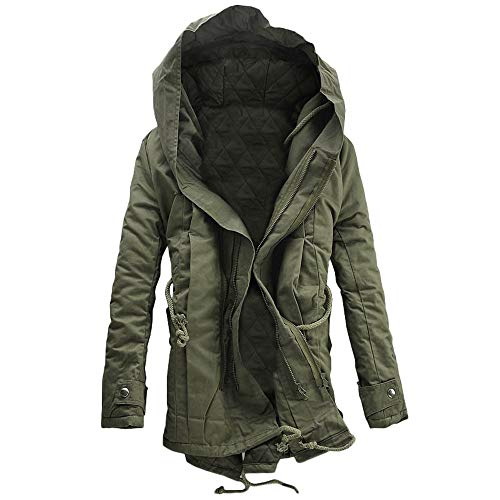 Italily uomini inverno caldo cappuccio cerniera solido vello cappotto outwear vento giacca uomo jacket giacca foderato di pile incappucciato piumino collare di pelliccia addensato