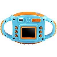 Elerose Cámara para Niños Cámara Digital HD para Niños Digital Video Cámara 1.8 HD Color Pantalla 5 MP Cámara (Azul)