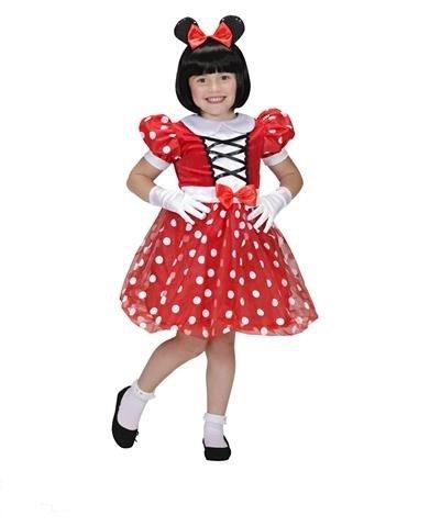 MOUSE GIRL 110cm/116cm (dress ears)