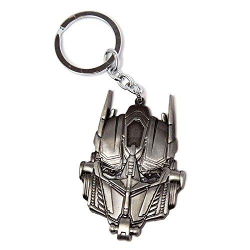 Transformers Schlüsselring Keychain Metal Optimus Prime Nue offiziell Movie (Optimus Prime Spielzeug Metall)