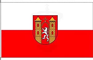 Königsbanner Hissflagge Löbau - 80 x 120cm - Flagge und Fahne