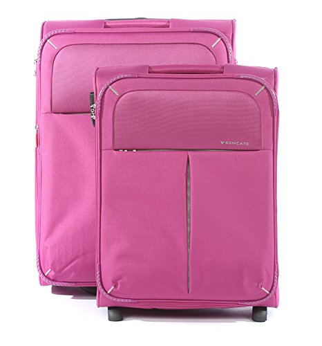 Roncato Trolley Koffer-Set, 76 liters, Violett (Violletta)