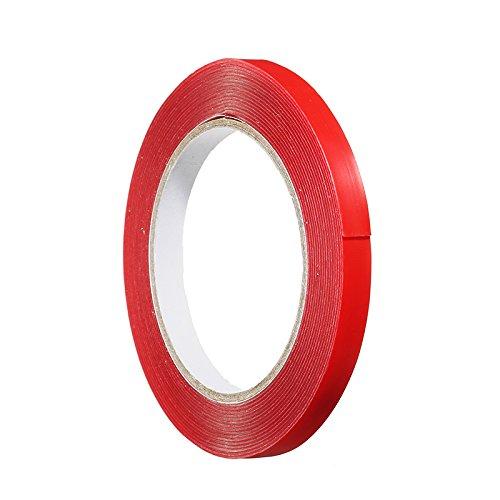 LaDicha Doppelseitiger Transparenter Acryl Schaum Klebstoff Doppelseitiges Klebeband Für Rc-Modelle - 1Cm