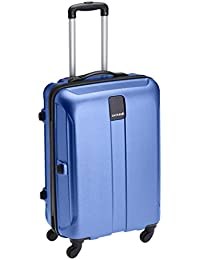 Safari Thorium Polycarbonate 77 cms Blue Hardsided Suitcase (Thorium-Stubble-Dazzling-Blue-77-4WH)
