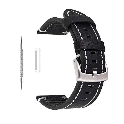 4648ea65d9c1 Correa de reloj de piel auténtica extrasuave de Berfine