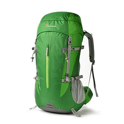Mountaintop 50L Zaino Trekking Impermeabile Escursionismo montagna campeggio alpinismo viaggio 72 x34 x22cm