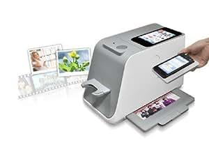 MegaTek® Scanner portable de Smartphone pour photos / cartes de visite / négatifs / diapositives - Compatible avec iPhone 4 4S iPhone 5, Samsung Galaxy S2/S3 smartphone