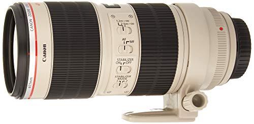 Canon EF 70-200mm f/2.8L is II USM Teleobjektiv Zoom Objektiv EOS DSLR Kameras-2751b002(Zertifiziert aufgearbeitet)