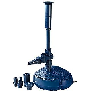 Fiap Aqua Active Mini 3.000 Hochwertige Springbrunnen-/ Teich Filter-/ Wasserspielpumpe für Bachlauf, Gartenteich Fontäne, Leistungsstarke für Wasserspiel