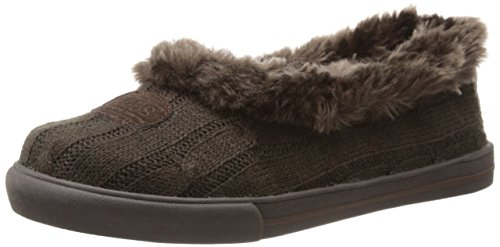 Skechers Mad Crush Snuggle In, Chaussons femme Chocolat