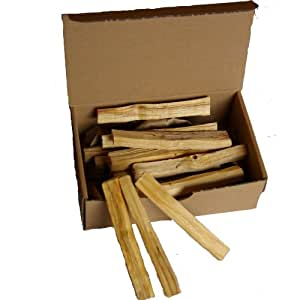 100gr Palo Santo (sacred wood) da Native Spirit® bulk pack (about ~18-21 bars per fine ~9-10x1x1cm; ~5-6gr/piece) -- deliciously fragrant 'Holy Wood' from Native Spirit®-- sustainably harvested direct from natives in South America