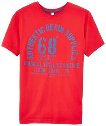 ESPRIT - T-Shirt - Manches courtes Garçon -  Rouge - 9 ans