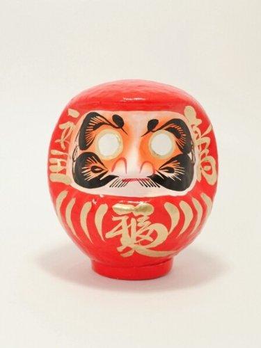 JAPAN CRAFT: LUCKY DOLL - Daruma, tamaño 2, color naranja - SUCCESS EN SCHOOL