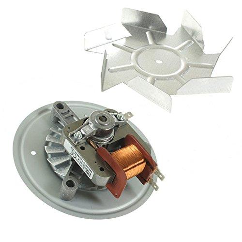 spares2go Fan Klinge und Motor Einheit für Moffat mdb700W mdb700X Ofen/Herd -