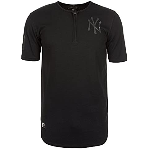 New Era Ne96436Fa16 Mlb Remix Bb Tee Neyyan - Camiseta manga corta-Línea New York Yankees para hombre, color negro, talla L