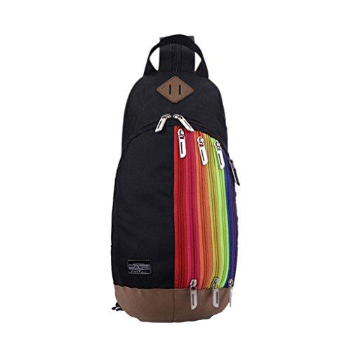 Liying Neu Rucksack Schultasche Schulrucksack Klein Umhängetasche Multifunktionrucksack für Outdoor