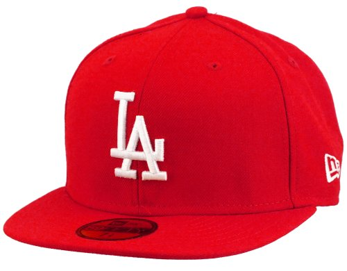 New Era MLB Basic LA Dodgers casquette 7 3/8 scarlet