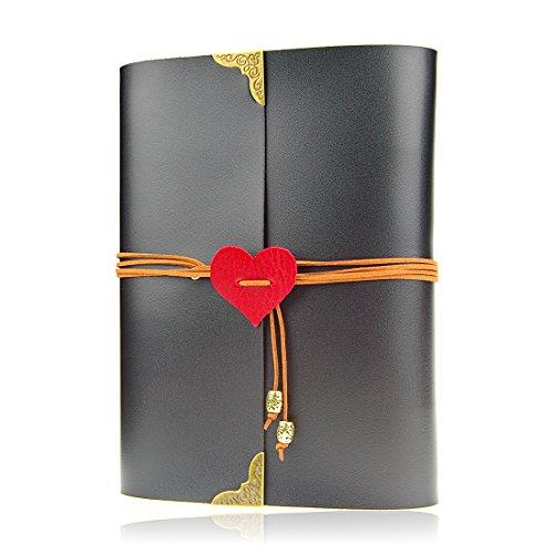 Foto Libro, Scrapbook Album Foto, fai da te Retro Album di foto Scrapbook Vintage di memoria Book Travel Memorie del taccuino anniversario di nozze regalo