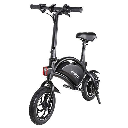 Windgoo Bicicletta Elettrica, E-Bike, Bicicletta Elettrica Pieghevole,Ruota 12\'\', LG 36V/4.4Ah, Motore 350 W, velocità Max 30 Km/h (B15)