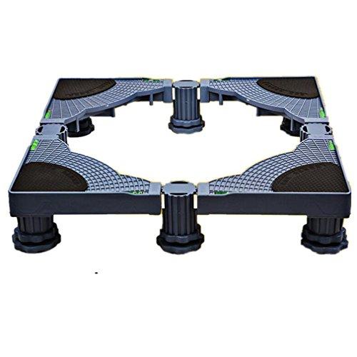 XIAOMEIXI Waschbecken Unterschrank Kühlraum Pulsator Zubehör Edelstahl Rahmen Feste verstellbare Trolley , A
