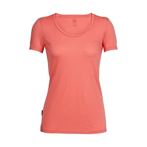 4144%2BgtBzhL. SS500  - Icebreaker Women's Tech Lite Short Sleeve Scoop First Layers