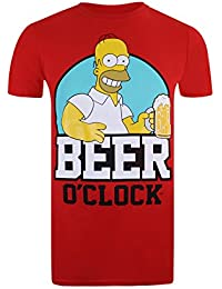 Simpson Beer O Clock, T-Shirt Homme