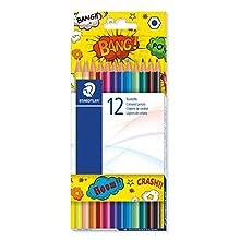 Staedtler 175 COC12 Hexagonal Colouring Pencils (Pack of 12)