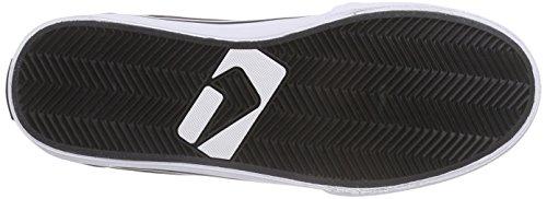 Globe GS Unisex-Erwachsene Sneakers Schwarz (Black/Red)