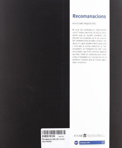 Recomanacions als futurs arquitectes (Re-Lectures)