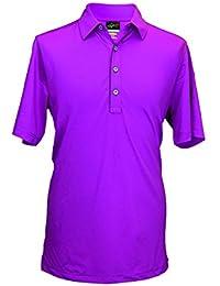 Greg Norman Men's Pritzker Greg Norman Men's Pritzker Technical Pique Polo Shirt - Imperial, Small