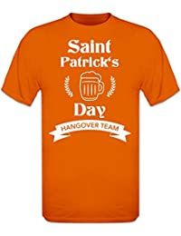 Saint Patrick's Day Hangover Team T-Shirt by Shirtcity