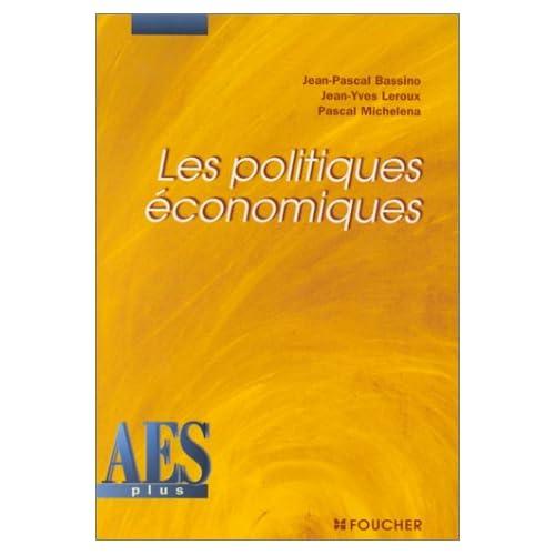 Les Politiques économiques, DEUG AES