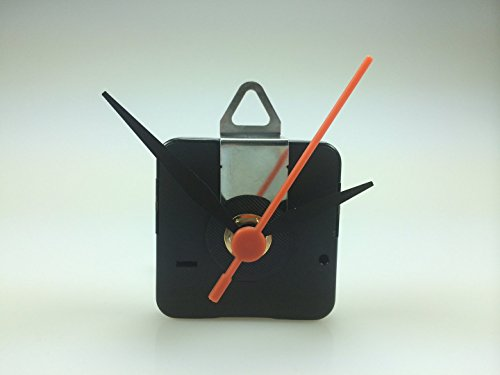 Quarzuhrwerk Set Lautlos Quarz Uhrwerk leise 7mm, kein Ticken