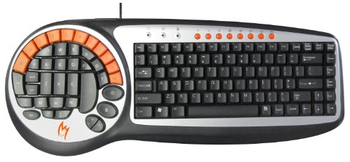 Zykon K2 ergonomische Gaming Tastatur Keyboard russian (russisches Layout) QWERTY