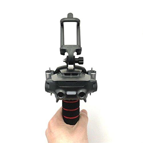 LCLrute Hohe Qualität Handheld Gimbal Halter Stabilisatoren Fixed Mount Kamera Halterung für DJI Mavic Air (Schwarz)