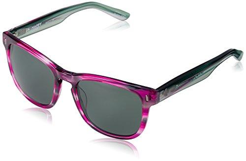 Spy Sonnenbrille Beachwood, Fuchsia Sunset-Happy Gray Green, One Size, SPYGLA_Bea