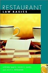 Restaurant: Law Basics (Wiley Restaurant Basics Series)