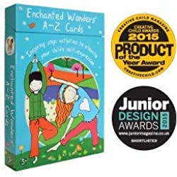 Enchanted Wonders A-Z Cards: Inspiring Yoga Activities to Elevate Your Child's Self-Expression